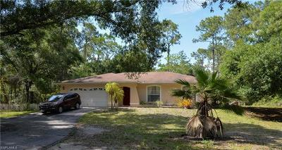 Naples Single Family Home For Sale: 3381 SW 5th Ave