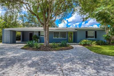 Fort Myers Single Family Home For Sale: 1326 Burtwood Dr