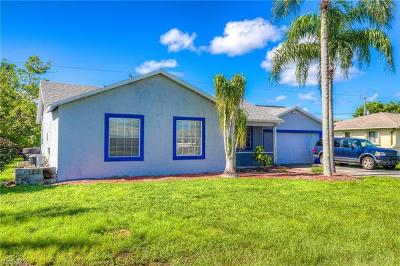Fort Myers Single Family Home For Sale: 8432 Coral Dr