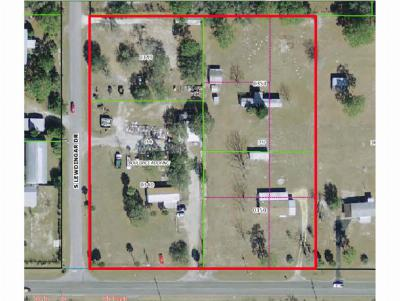Homosassa, Dunnellon Commercial For Sale: 6735 Cardinal-Lewdingar