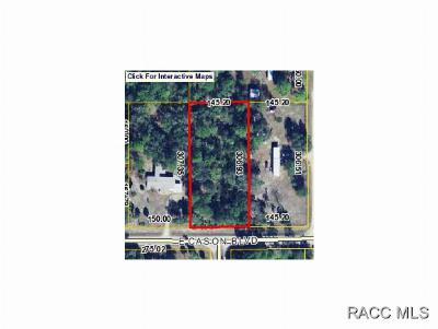 Inglis Residential Lots & Land For Sale: Cason Boulevard