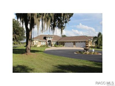 Citrus County Single Family Home For Sale: 839 S Adams Pond Terrace