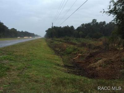 Citrus County Residential Lots & Land For Sale: 5827 N Tallahassee Road