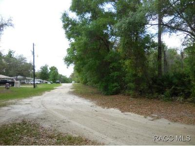 Crystal River FL Residential Lots & Land For Sale: $6,000