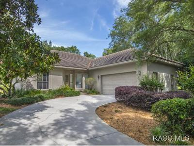 Lecanto Single Family Home For Sale: 3185 W Bermuda Dunes Drive
