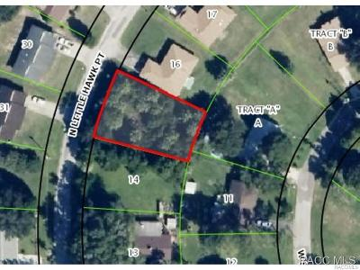 Crystal River Residential Lots & Land For Sale: 4047 N Little Hawk Point