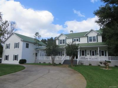 Citrus County Single Family Home For Sale: 3399 E Rotor Wing Path