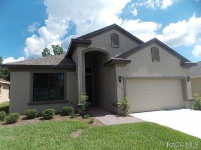 Lecanto Single Family Home For Sale: 1755 W Caroline Path