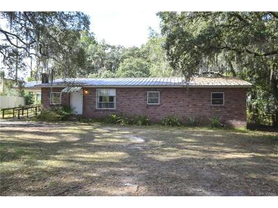 Floral City Single Family Home For Sale: 7122 S Florida Avenue