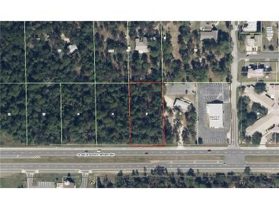 Lecanto Residential Lots & Land For Sale: 2457 W Norvell Bryant Highway