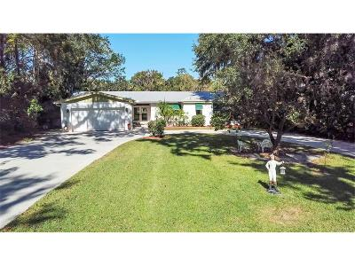 Crystal River Single Family Home For Sale: 1316 SE Kings Bay Drive