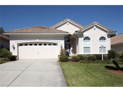 Hernando FL Single Family Home For Sale: $234,000