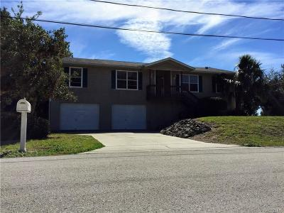 Crystal River Single Family Home For Sale: 11798 W Coquina Court
