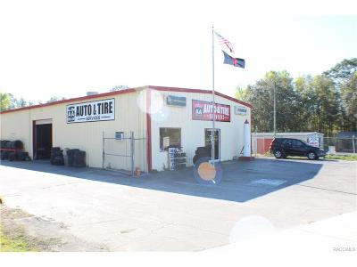 Lecanto Commercial For Sale: 1621 N Lecanto Highway
