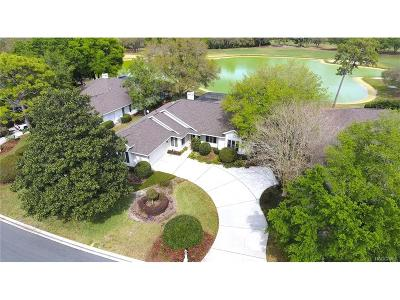 Lecanto Single Family Home For Sale: 3215 N Pinelake Village Point