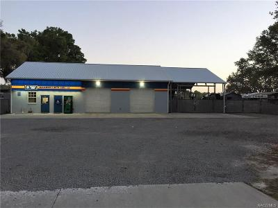 Homosassa, Dunnellon Commercial For Sale: 21259 W Hwy40 Street