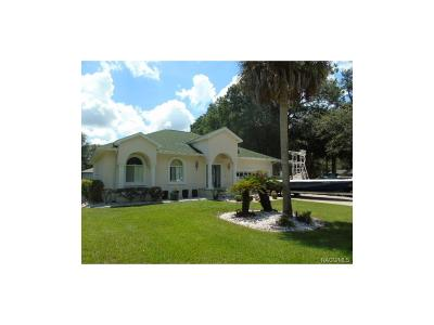 Crystal River Single Family Home For Sale: 1425 SE 3rd Avenue