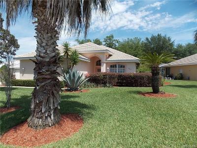 Hernando FL Single Family Home For Sale: $203,000