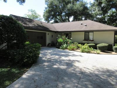 Crystal River Single Family Home For Sale: 1400 N Hunterston Point