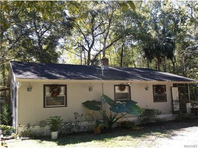 Floral City Single Family Home For Sale: 12158 S Supreme Court