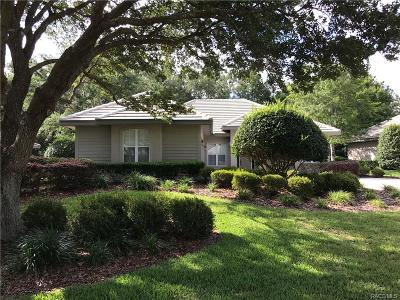 Lecanto Single Family Home For Sale: 3100 N Barton Creek Circle
