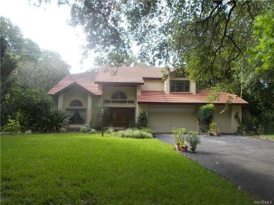Levy County Single Family Home For Sale: 3 Genie Court