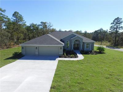 Weeki Wachee Single Family Home For Sale: 12096 Labrador Duck Road
