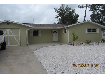 Crystal River Single Family Home For Sale: 1921 NW 15th Street