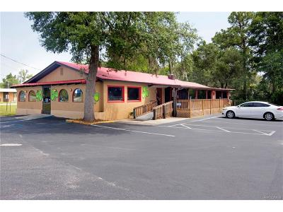 Crystal River Commercial For Sale: 6875 W Gulf To Lake Highway