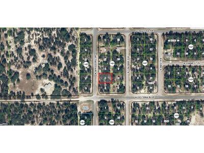 Citrus Springs Residential Lots & Land For Sale: 10535 N Spaulding Drive