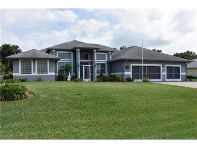 Inverness Single Family Home For Sale: 1331 N Timucuan Trail
