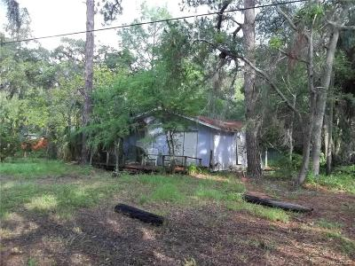 Levy County Single Family Home For Sale