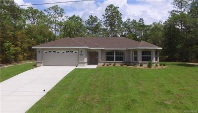 Citrus Springs Single Family Home For Sale: 8961 N Lansen Way