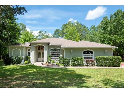 Lecanto Single Family Home For Sale: 8 S School Avenue