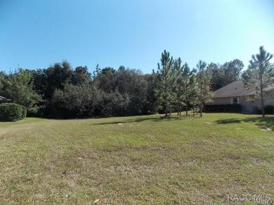 Lecanto Residential Lots & Land For Sale: 2720 N Brentwood Circle