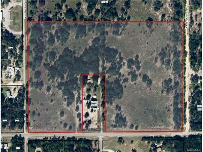 Dunnellon Residential Lots & Land For Sale: 7005 W Dunklin Street