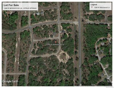Citrus Springs Residential Lots & Land For Sale