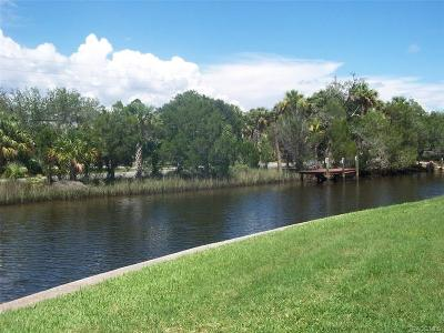 Crystal River Condo/Townhouse For Sale: 11205 W Bayshore Drive