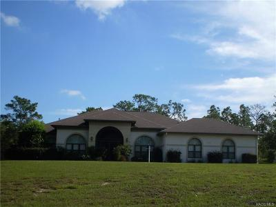Pine Ridge Single Family Home For Sale: 5303 N Tee Pee Drive