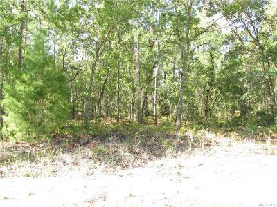 Citrus Springs Residential Lots & Land For Sale: 3850 W Fantasy Lane