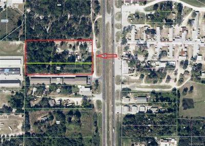 Homosassa, Dunnellon Commercial For Sale: 6370 & 6384 S Suncoast Boulevard
