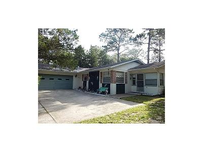Floral City Single Family Home For Sale: 12201 S Daffodil Point