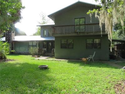 Homosassa Multi Family Home For Sale: 2083 S Melanie Drive