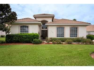 Hernando Single Family Home For Sale: 1258 W Skyview Crossing Drive
