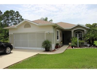 Lecanto Single Family Home For Sale