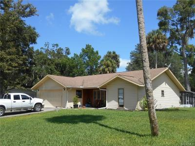 Inglis Single Family Home For Sale: 21 Palm Circle Drive