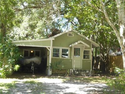 Levy County Single Family Home For Sale: 2 Alley A