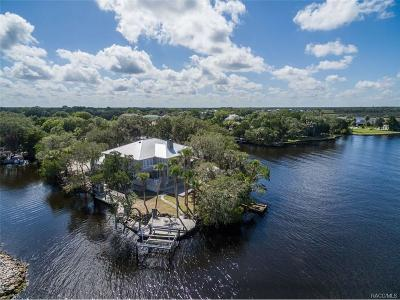 Homosassa FL Single Family Home For Sale: $1,275,000