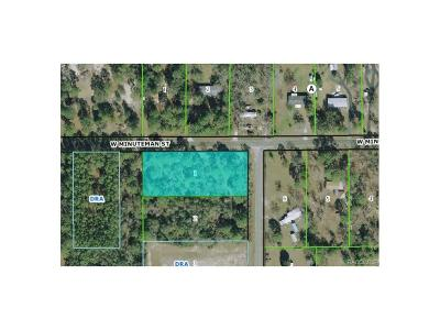 Citrus County Residential Lots & Land For Sale: 1160 S Gettysburg Dr