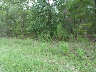Citrus County Residential Lots & Land For Sale: 63 Cactus Street